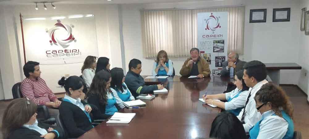 Consejo Electoral se reúne con el personal CAPEIPI